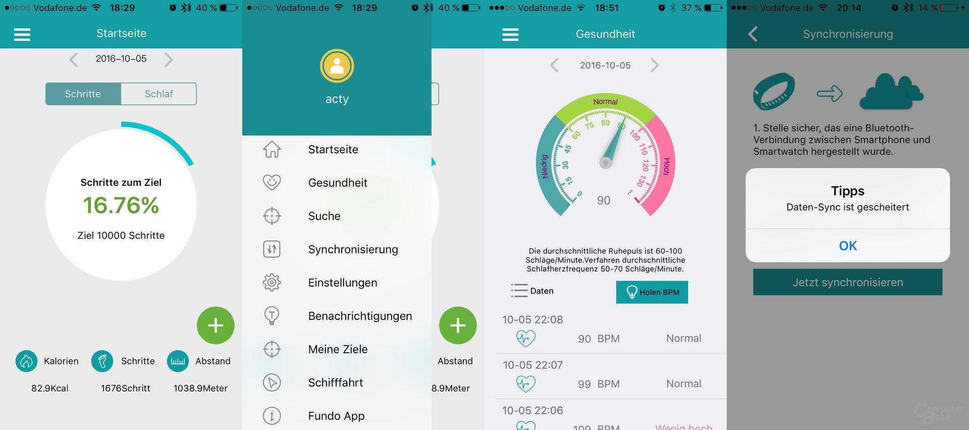 K88H im Test – die App