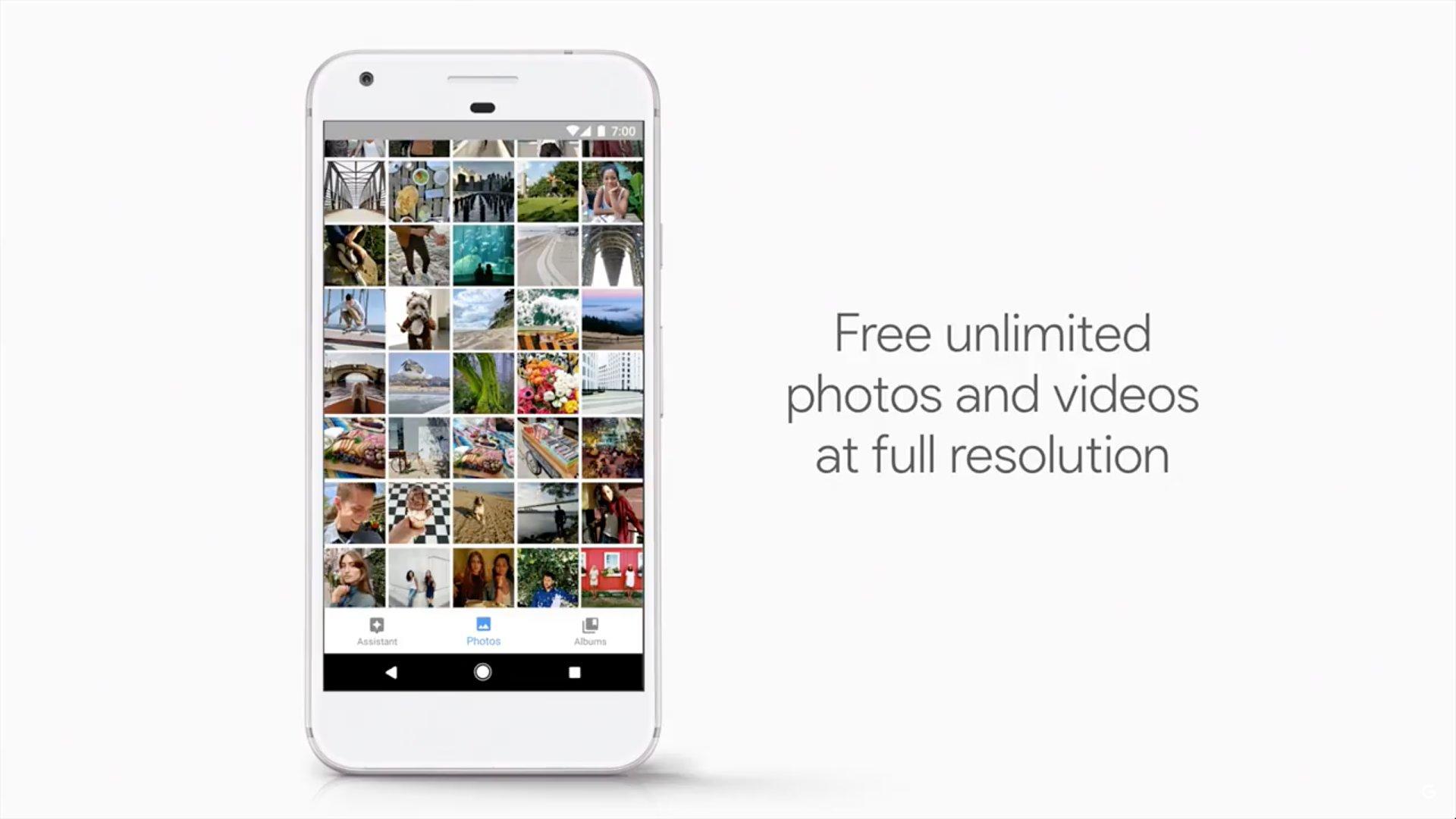 Unbegrenzter Cloud-Speicher für Fotos und Videos