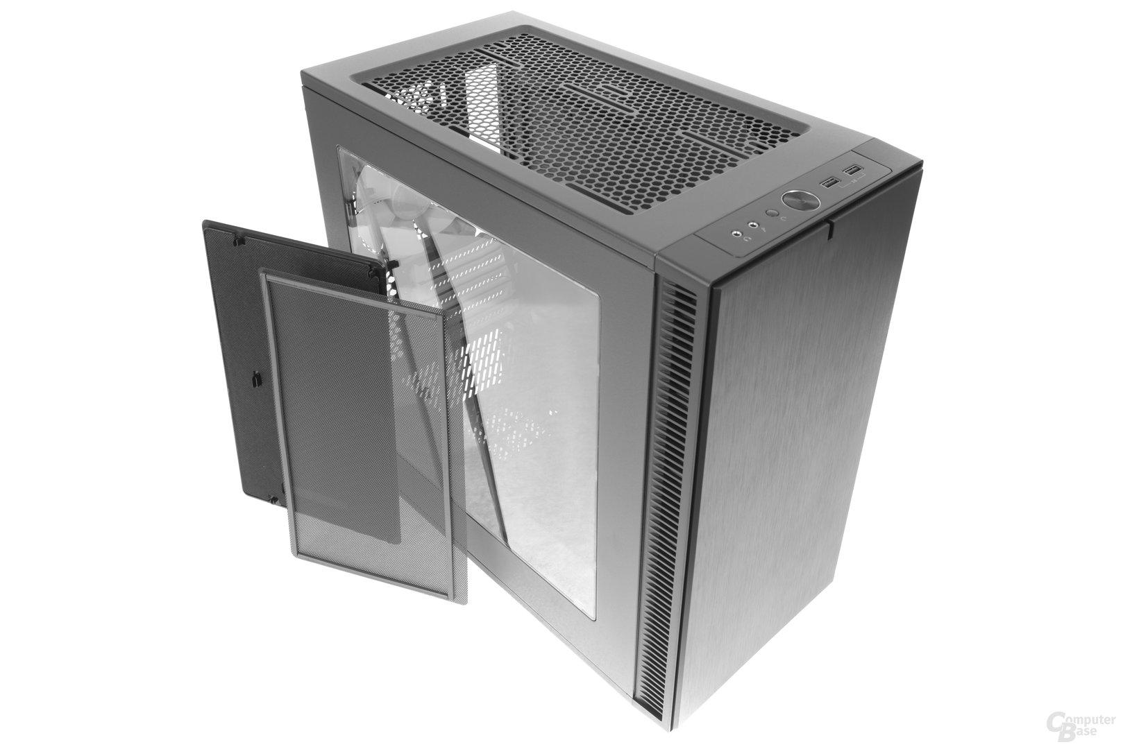 Fractal Design Define Mini C – Abdeckung entfernt