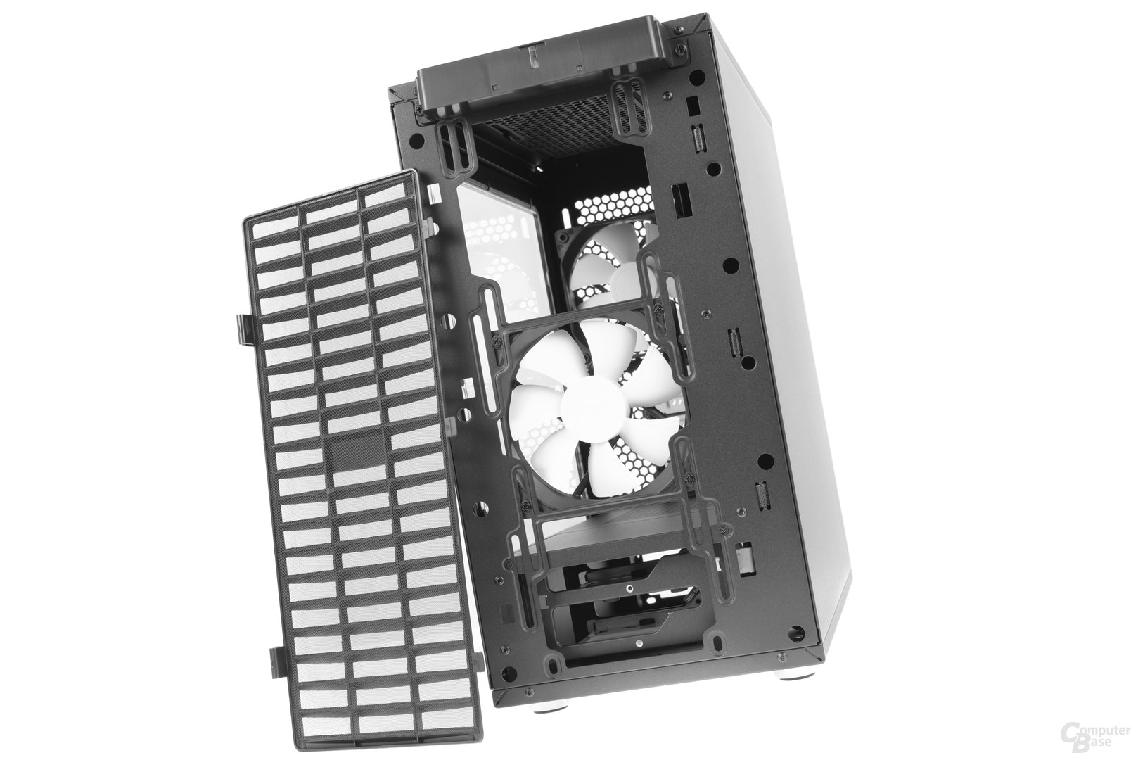 Fractal Design Define Mini C – Frontstaubfilter entfernt