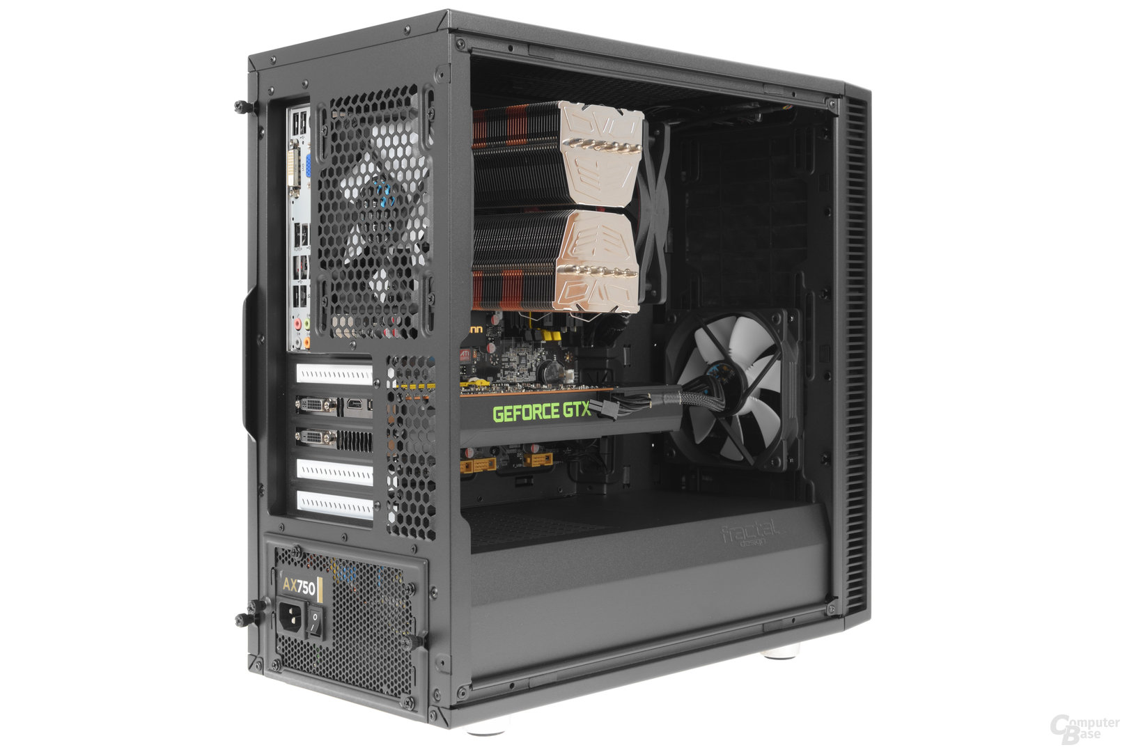 Fractal Design Define Mini C – Testsystem