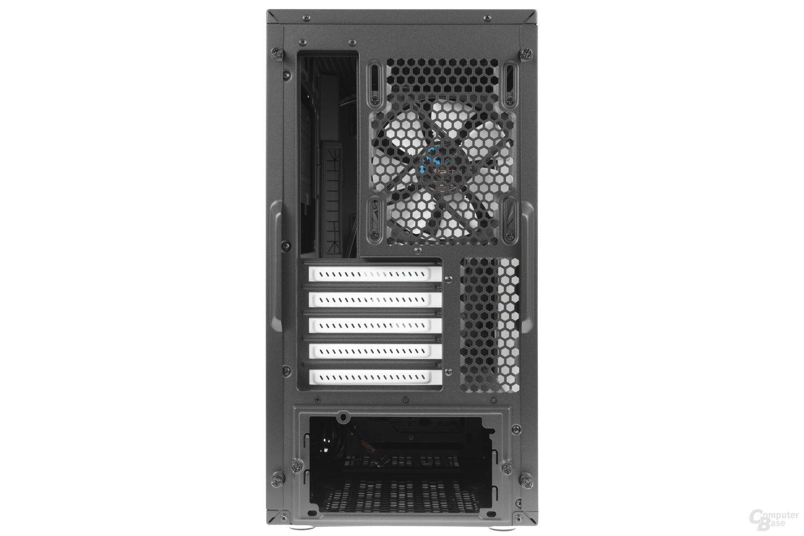 Fractal Design Define Mini C – Heckansicht