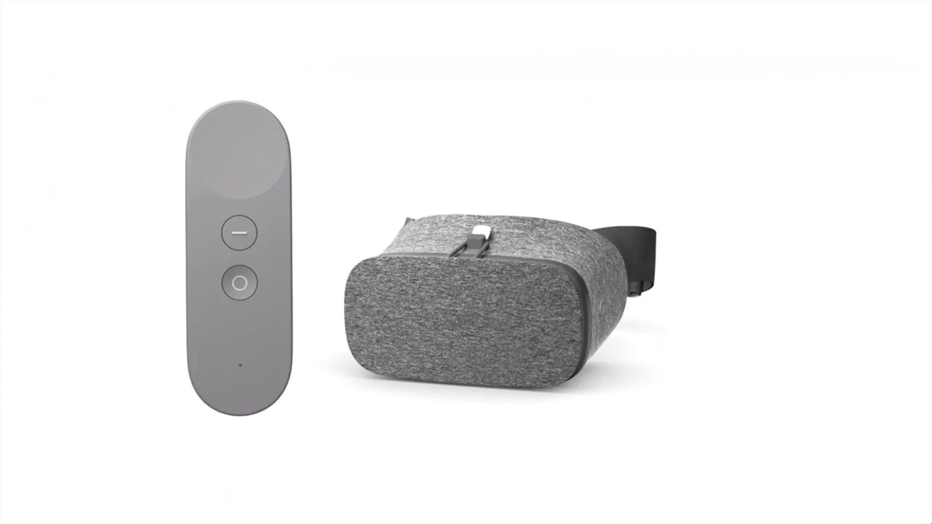 Google Daydream View mit Fernbedienung