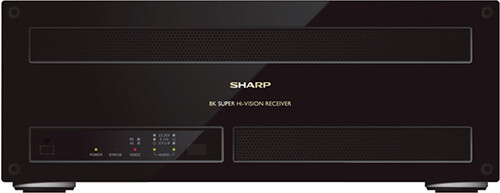 Sharp 8K Sat-Receiver