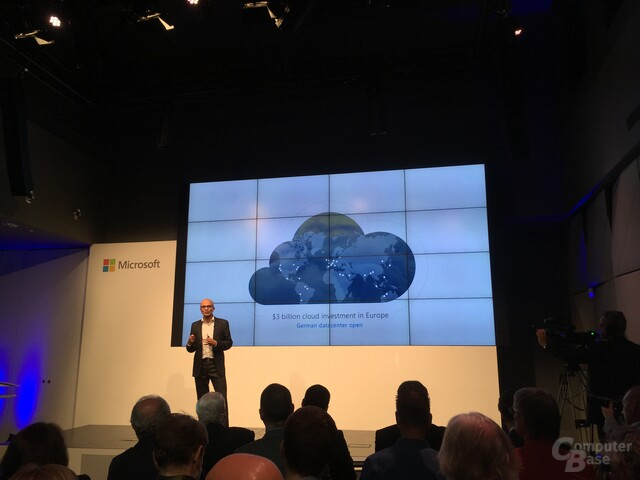 Satya Nadelle zur Microsoft Cloud in Berlin