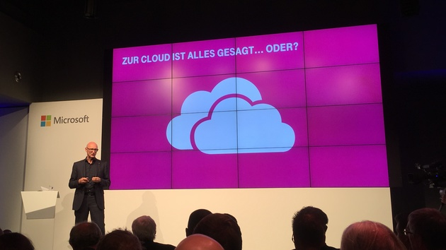 Microsoft: Die deutsche Cloud muss schon erweitert werden