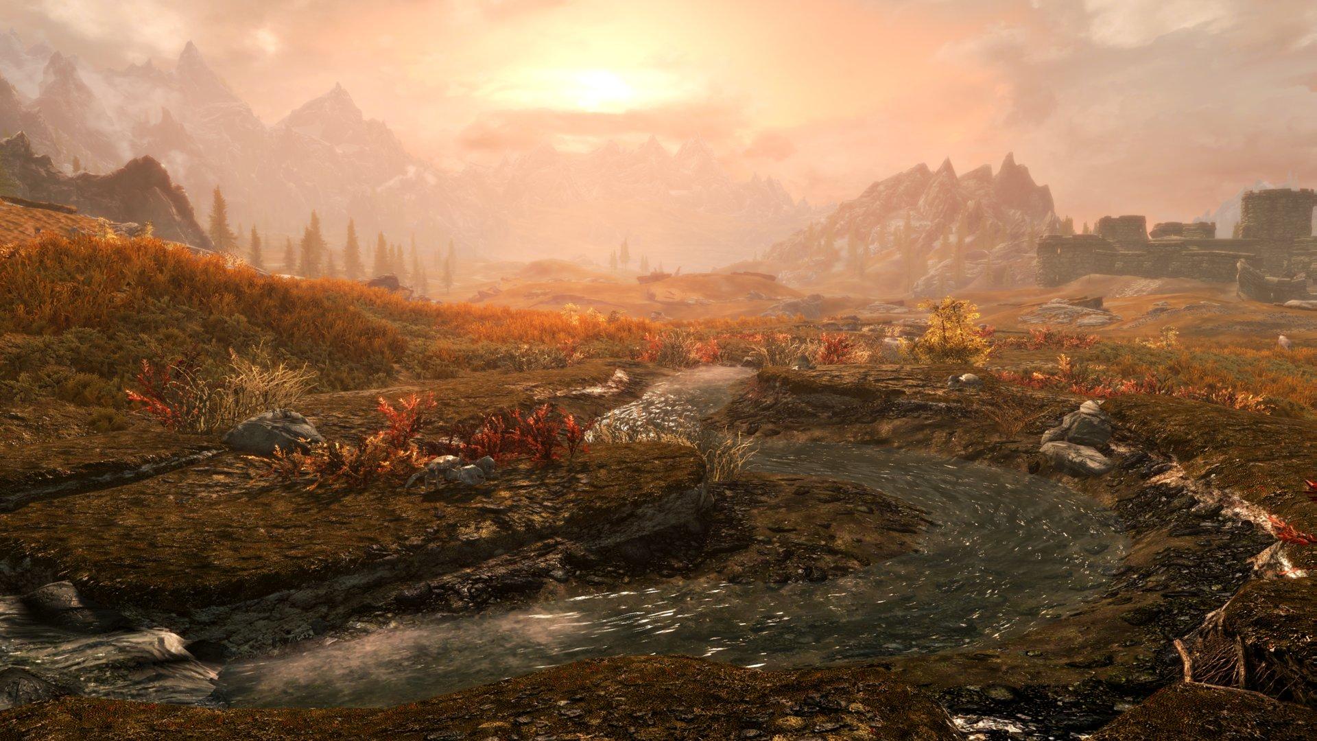 Skyrim in 4K auf der PS4: Tundra Stream