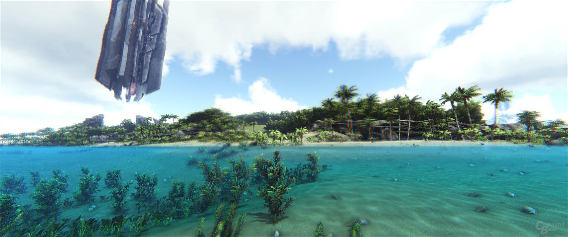 ARK: Survival Evolved – Unterwasser-Perspektive
