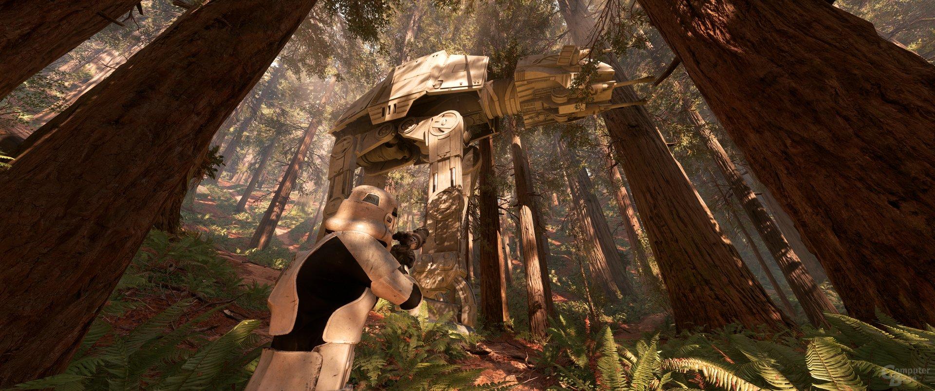 Für Screenshots deaktiviertes HUD in Star Wars  Battlefront