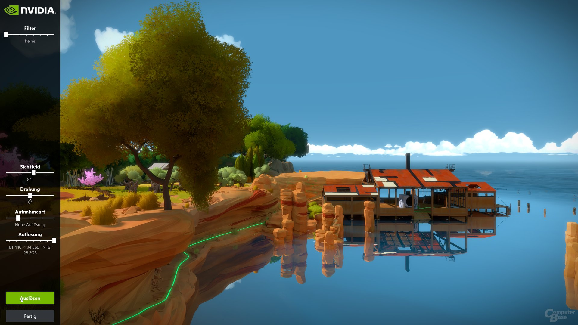 The Witness mit Ansel-Fotomodus