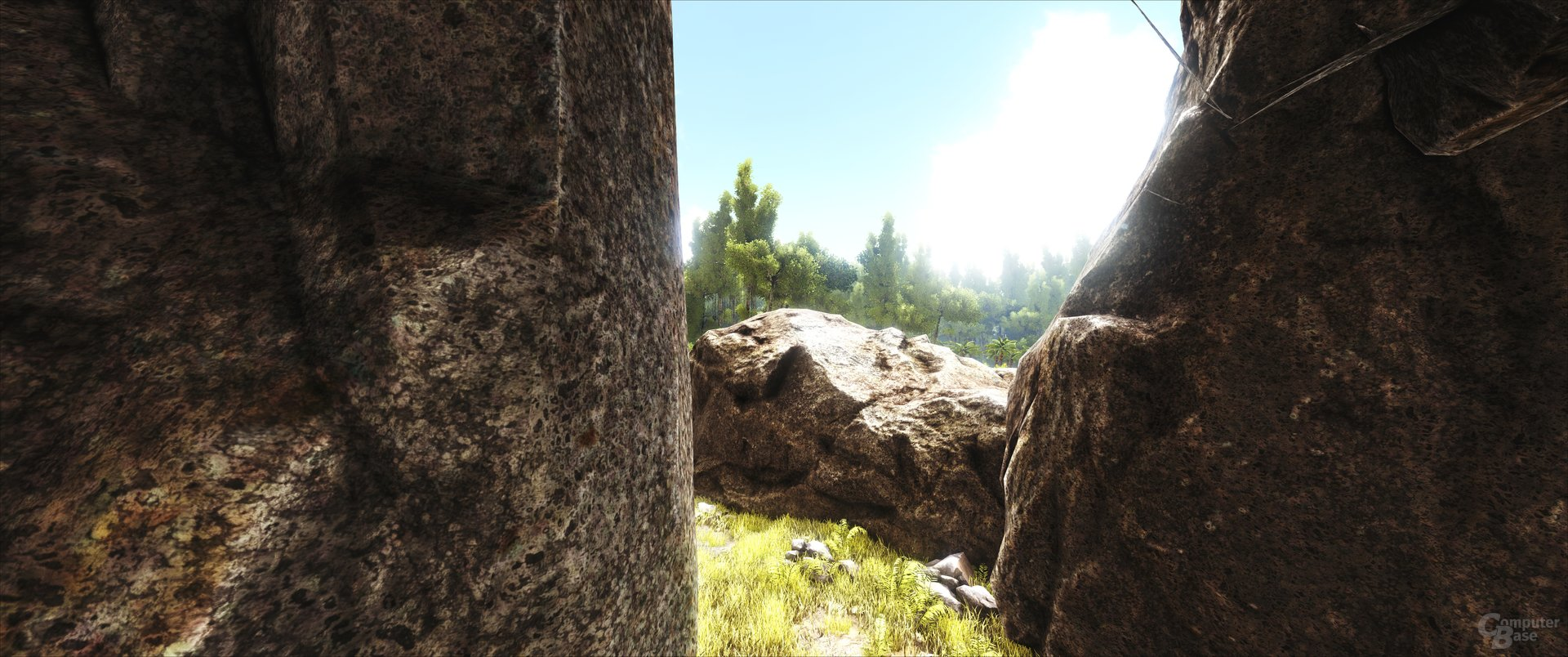 ARK: Survival Evolved – Versteck in einer Höhle