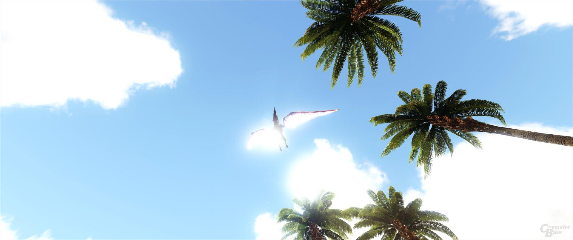 ARK: Survival Evolved – Lichtspiele mit Flugsaurier