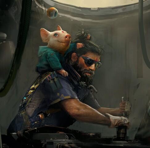 Ubisoft zeigt ein erstes Artwork von Beyond Good & Evil 2