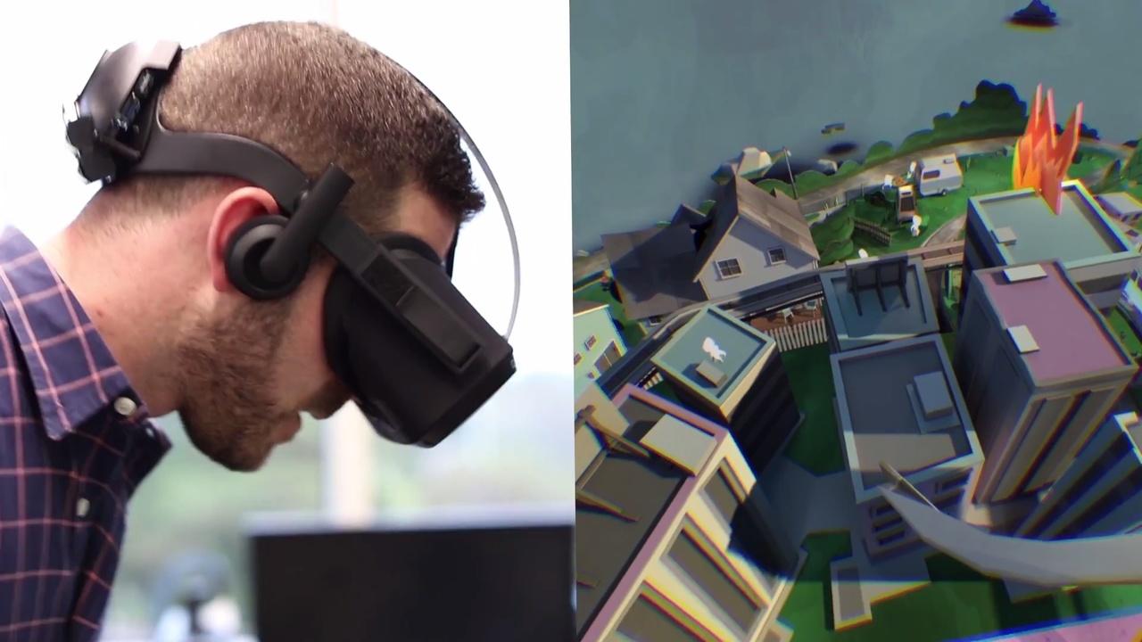 Facebook: Zuckerberg zeigt kabellose VR-Brille mit eigenem Tracking
