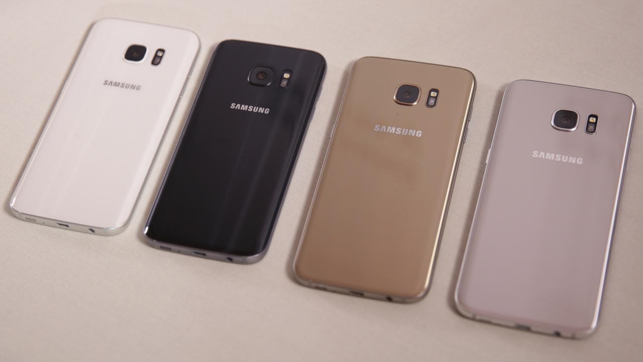 Samsung Galaxy S8: Rundum rahmenloses Display ohne Homebutton