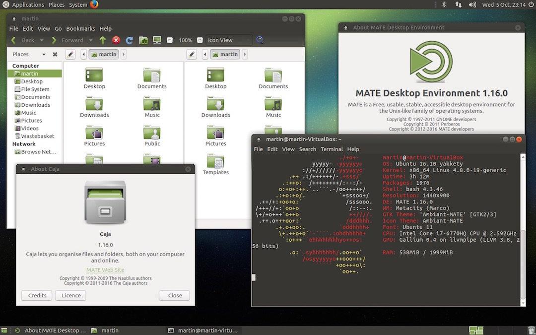 Ubuntu MATE 16.10