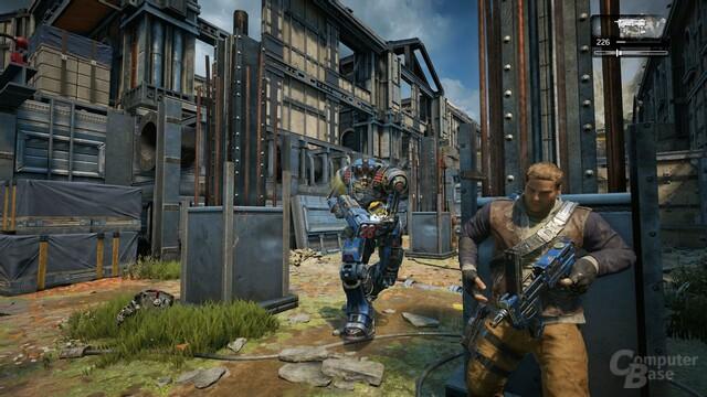 Nicht überzeugend: Einfallslose Robo-Soldaten (Xbox One)