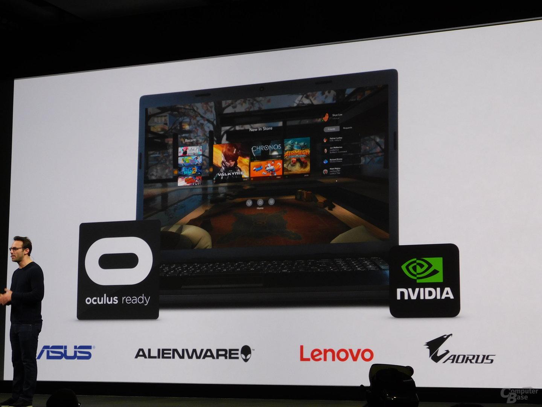 Mittlerweile werden auch Laptops von Alienware, Aorus, Asus und Lenovo aufgeführt