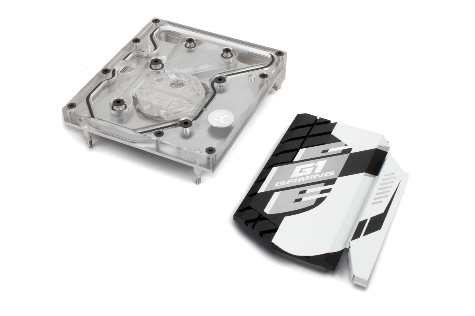EK-FB GA X99 Ultra Monoblock – Nickel mit Chipsatz-Kühler