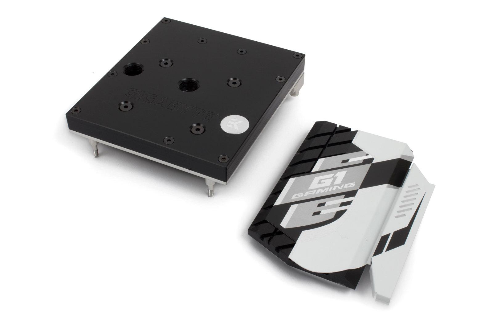 EK-FB GA X99 Ultra Monoblock – Acetal+Nickel mit Chipsatz-Kühler
