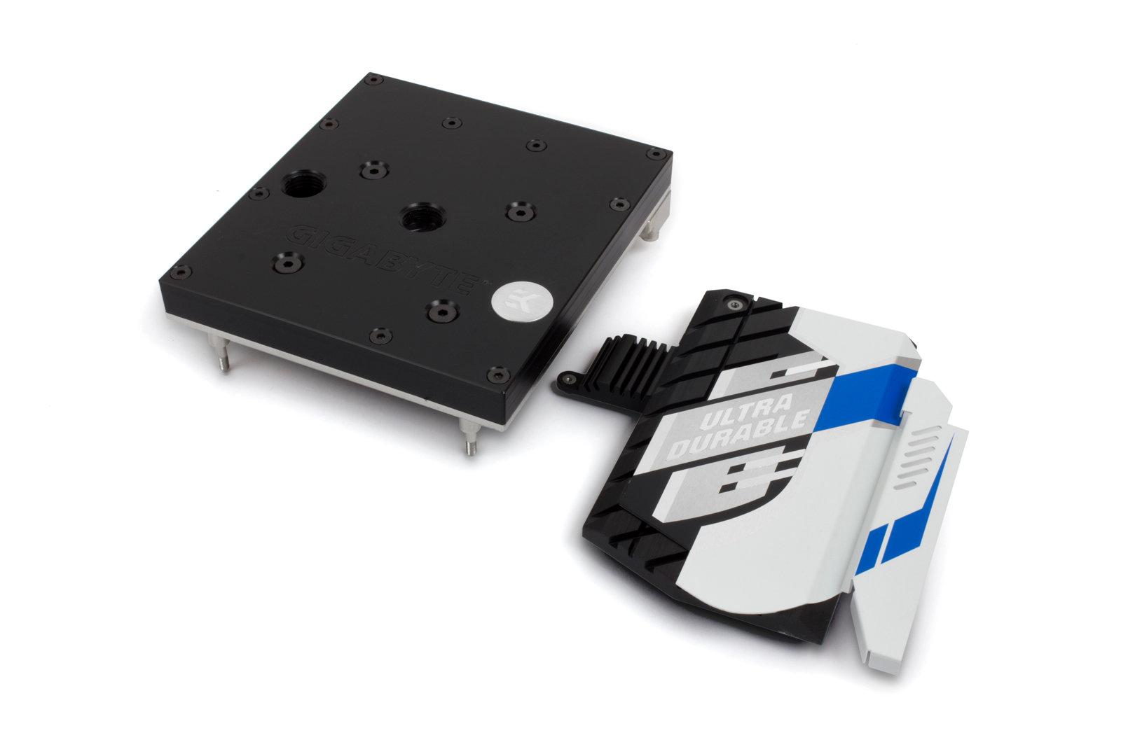 EK-FB GA X99 Designare Monoblock – Acetal+Nickel mit Chipsatz-Kühler