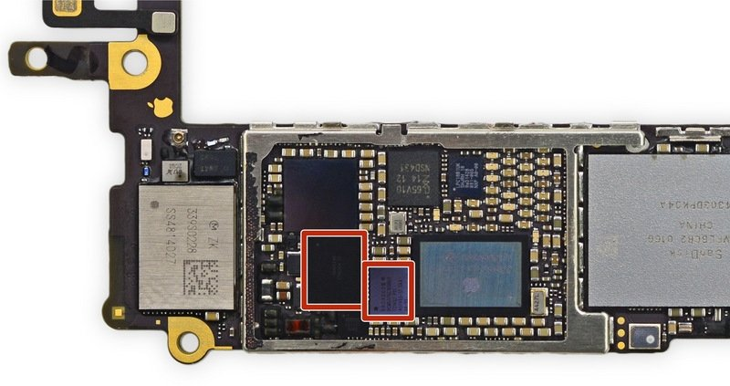 Touch-IC U2402 Meson und Cumulus U2401