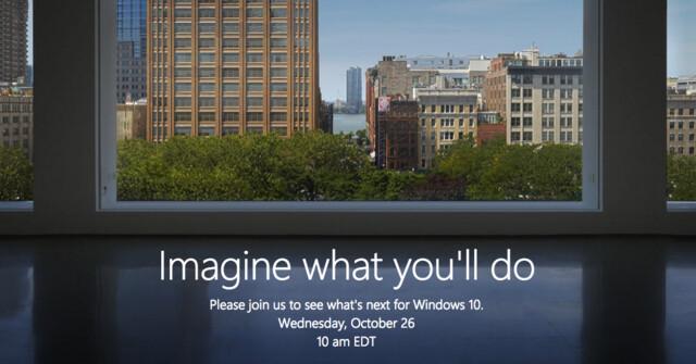 Microsoft Event Ende Oktober