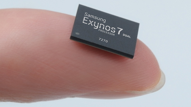 Samsung Exynos 7 Dual 7270: Erstes SoC für Wearables in 14 nm FinFET