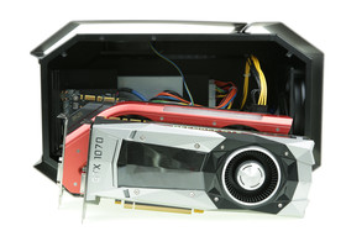 Die große GeForce GTX 1080 von Gainward passt hingegen nicht