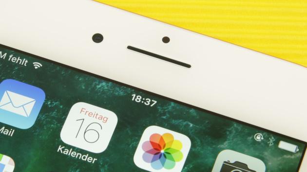 iPhone: Apple erhält Patent für ins Display integrierten Lichtsensor