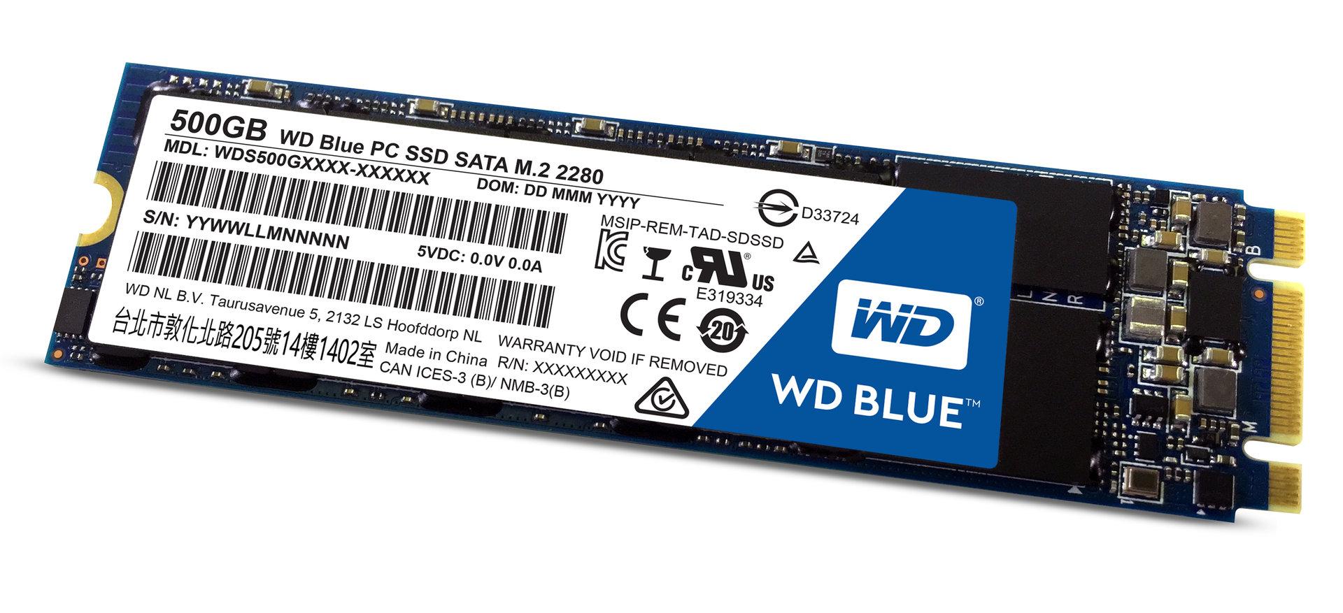 WD Blue SSD (M.2)