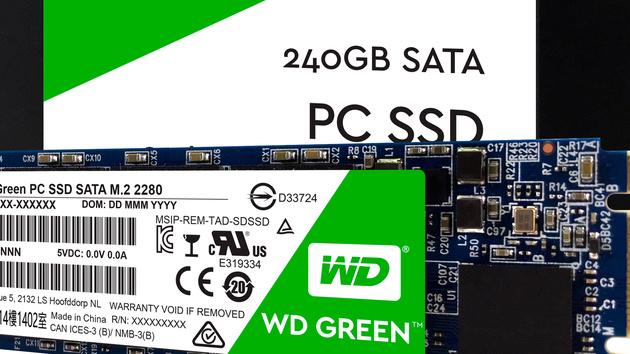 Western Digital: WD Green kehrt als SSD zurück