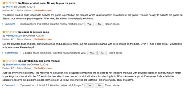 Verärgerte Nutzer auf Amazon
