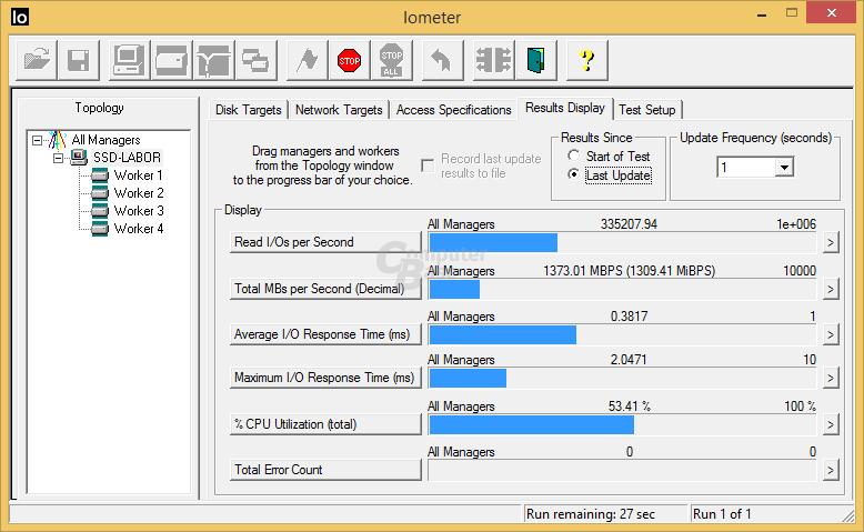 960 Pro 512 GB: 335.000 IOPS bei 4K random read