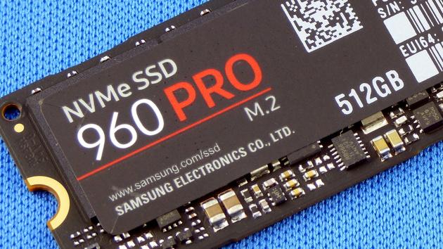 Samsung SSD 960 Pro im Test: Schneller als das Testsystem erlaubt