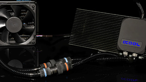 Alphacool Eiswolf GPX Pro: Modulare Kompaktwasserkühlung für Grafikkarten
