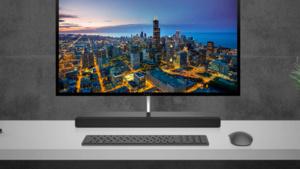 Envy AiO 27: HPs All-in-One mit Rechner im Fuß kostet 1.800 Euro