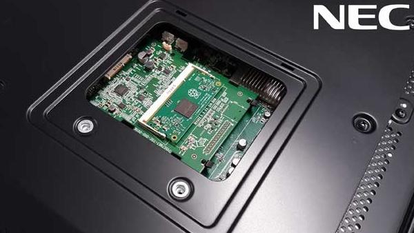 All-in-One: NEC integriert Mini-PC Raspberry Pi im Monitor