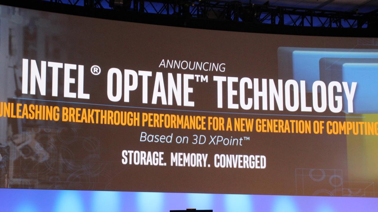 Intel Optane Memory 8000p: Erste Produkte mit 3D XPoint spezifiziert