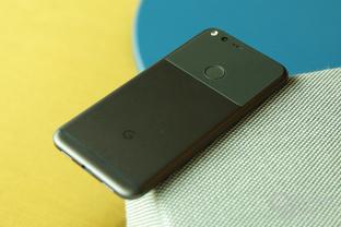 Pixel XL mit Google-Logo