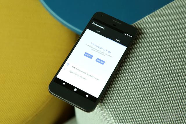 Der neue Pixel-Support in den Android-Einstellungen