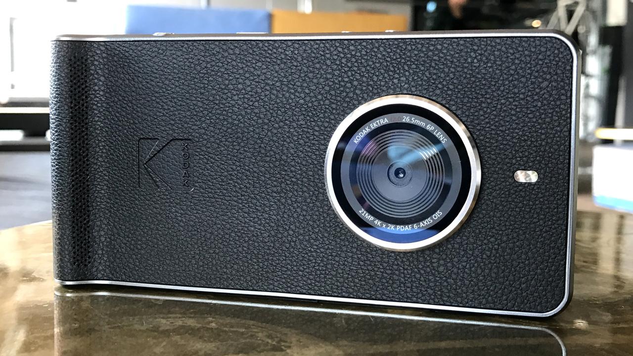 Kodak Ektra: Smartphone für Foto-Enthusiasten und Ausdrucker