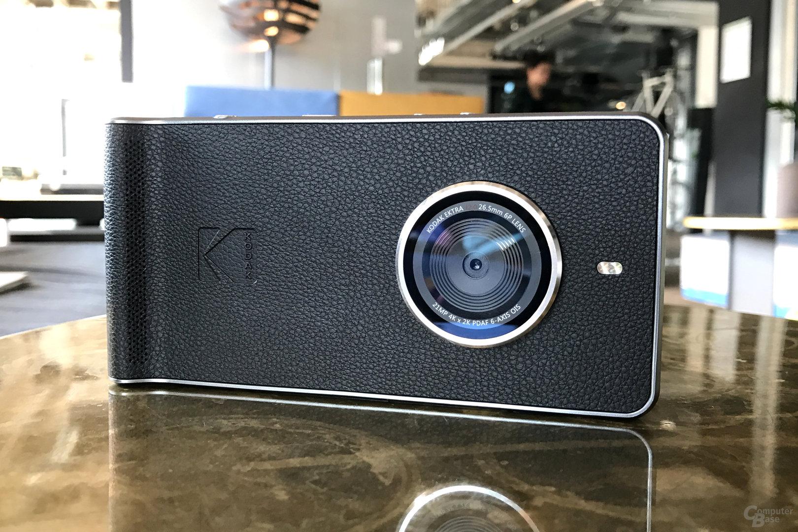 Kodak Ektra in Leder-Optik