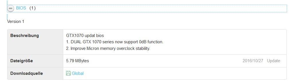 BIOS-Update von Asus