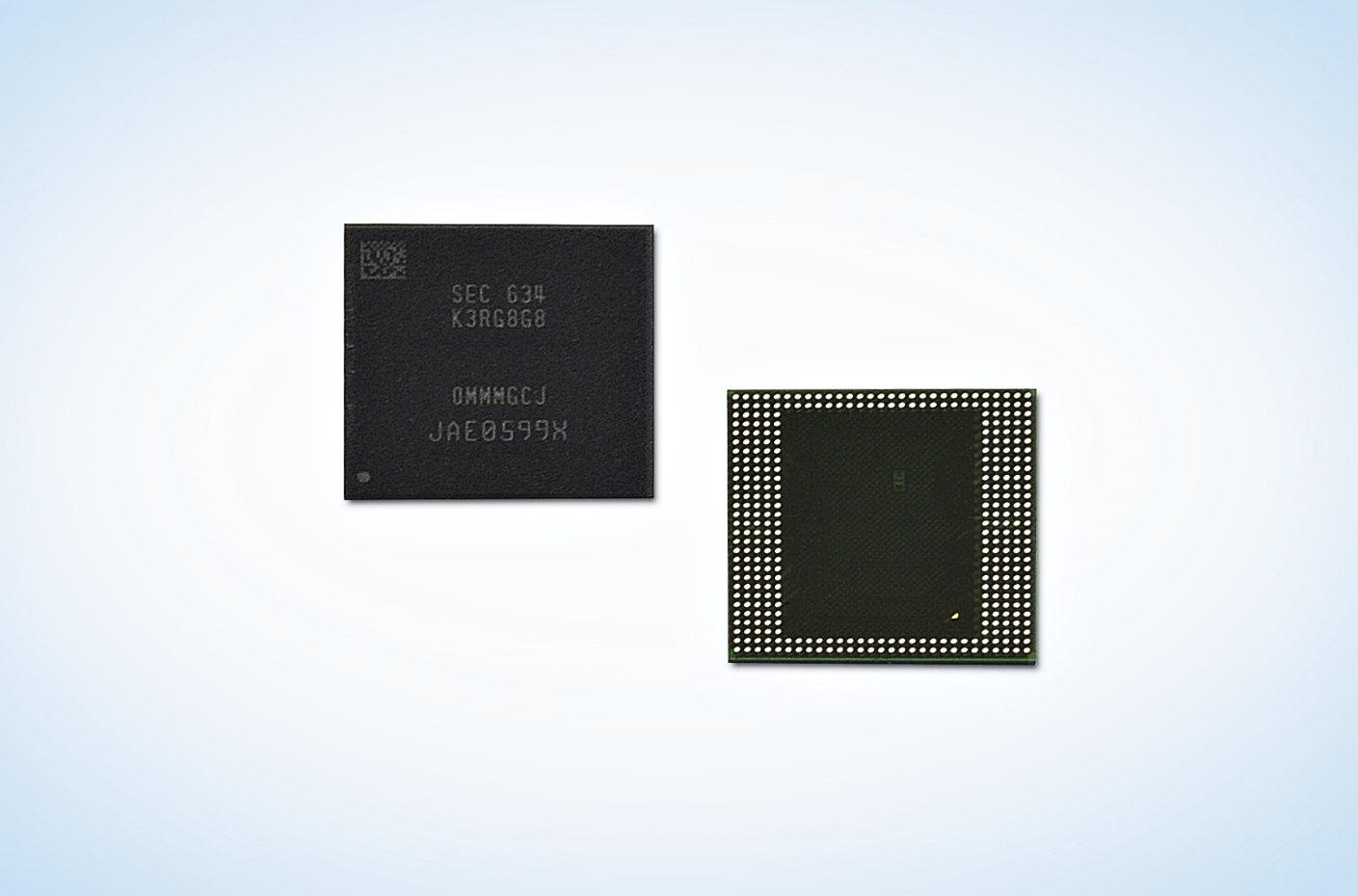 8 GByte LPDDR4 DRAM