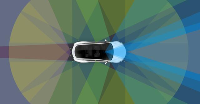 Neue Sensorik für alle seit gestern produzierten Tesla-Modelle