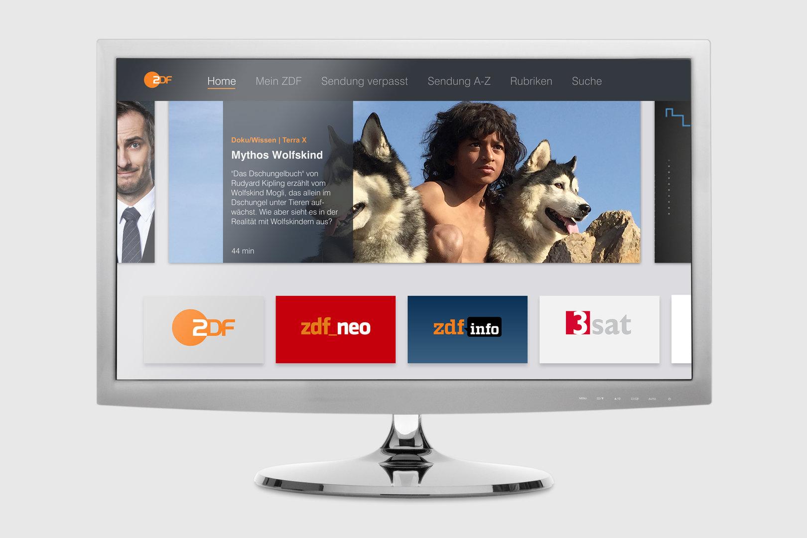 App der ZDFmediathek auf AppleTV