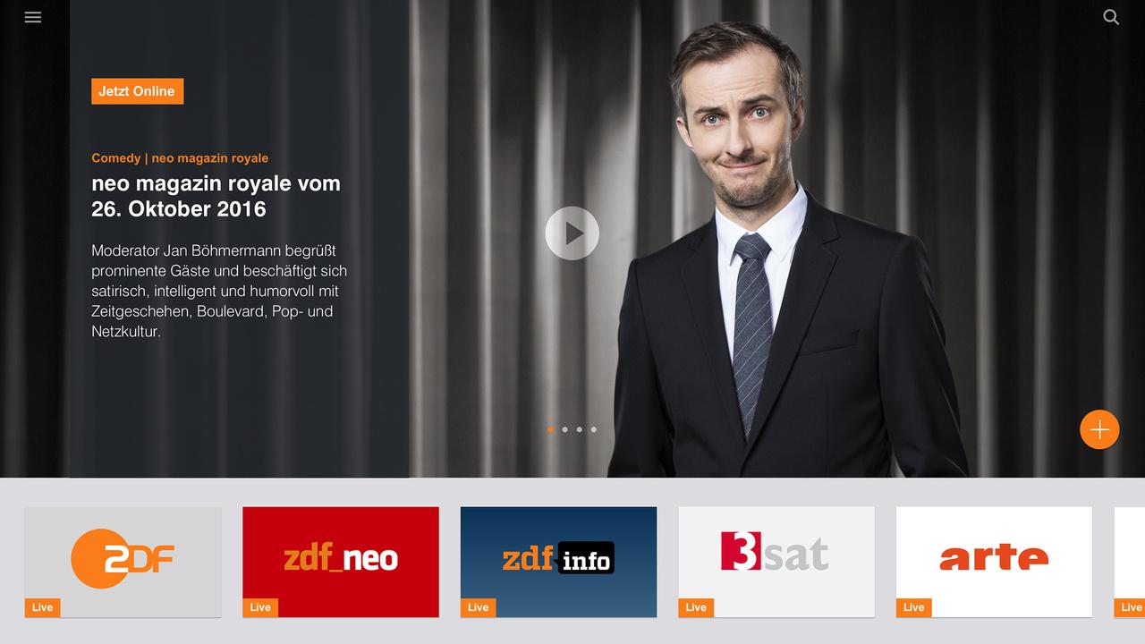ZDF-Mediathek: Neustart am 28.Oktober für alle modernen Plattformen