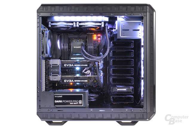 mifcom silent sli im test leiser pc mit sli und broadwell e f r euro seite 4 computerbase. Black Bedroom Furniture Sets. Home Design Ideas