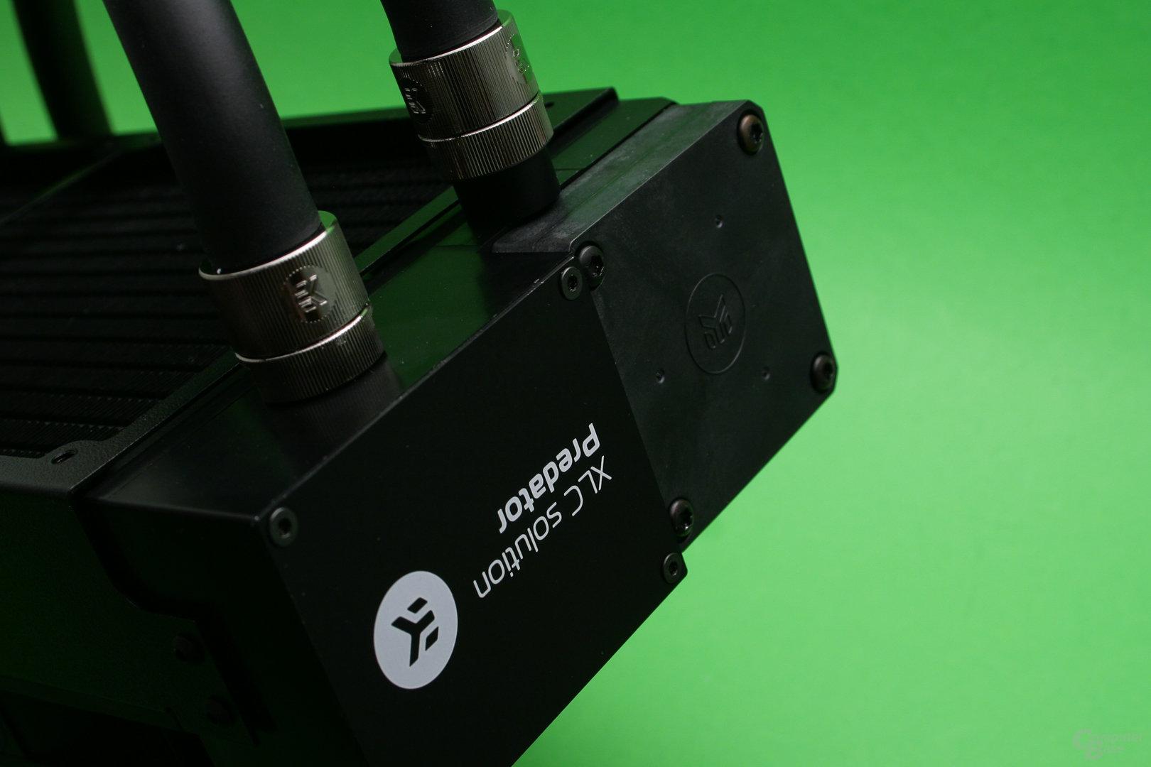 EK Predator 280: Die Pumpe stammt von EKWB